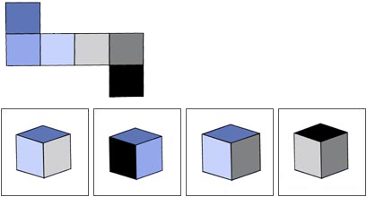Spatial reasoning aptitude test training Fibonicci