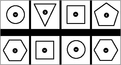 Figurenreihe einfach 5