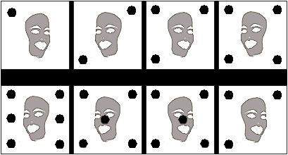 Figurenreihe einfach 8