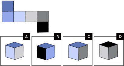 spatial reasoning test example question