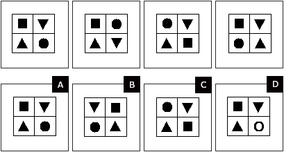 Non verbal reasoning hard test question 12