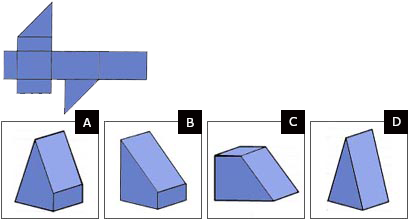 Spatial reasoning test easy question 1