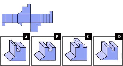 Spatial reasoning test hard question 10