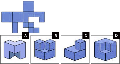 Spatial reasoning test hard question 3