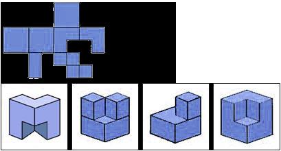 Raisonnement Spatial difficile épreuve 3