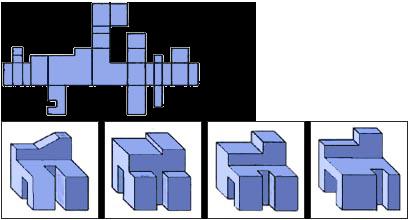 Raisonnement Spatial difficile épreuve 4