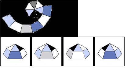 Raisonnement Spatial difficile épreuve 5