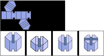 Raisonnement Spatial difficile épreuve 6