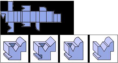 Raisonnement Spatial difficile épreuve 7