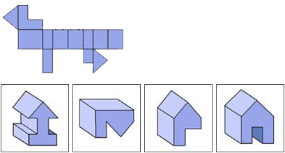 Raisonnement Spatial difficile épreuve 11