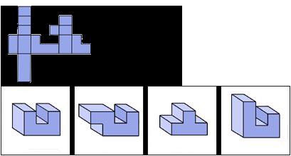 Raisonnement Spatial difficile épreuve 12