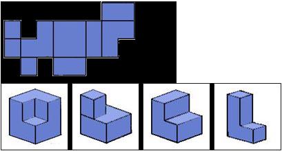 Raisonnement Spatial facile épreuve 5