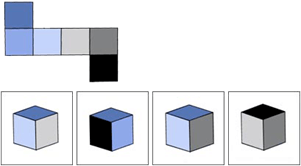 spatial reasoning example question