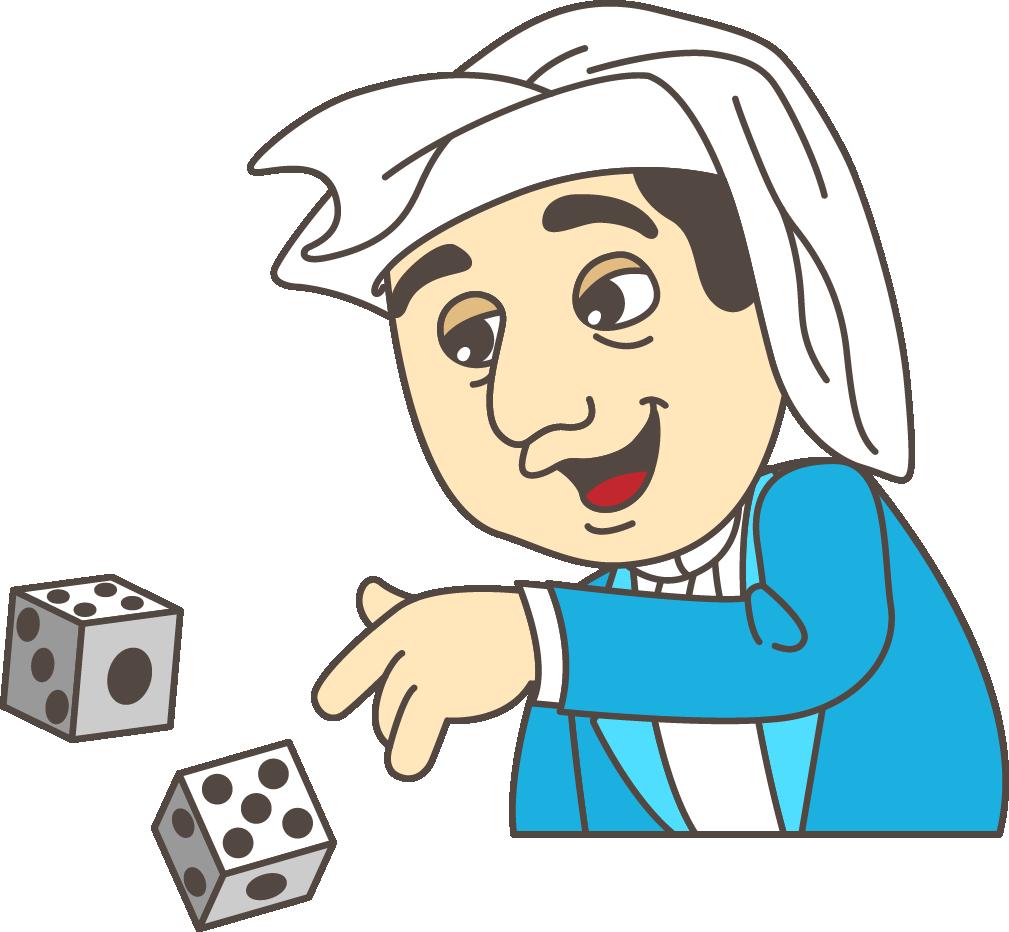 leonardo fibonicci gambled